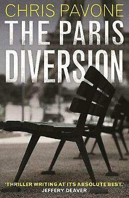Paris Diversion: A Novel by Chris Pavone (English) Hardcover Book Free Shipping!