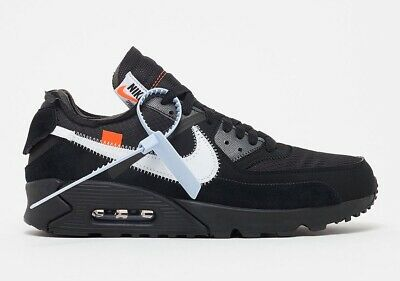 sports shoes 64cbc a87ba Off-White x Nike Air Max 90 In Black   AA7293-001