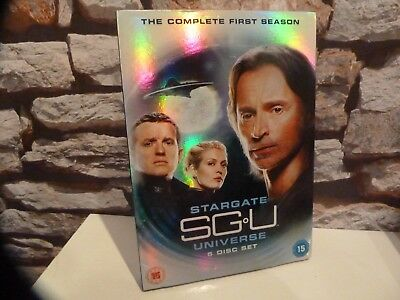 Stargate Universe Sgu - Season 1 One First Dvd - Uk - Fast/Free Posting.