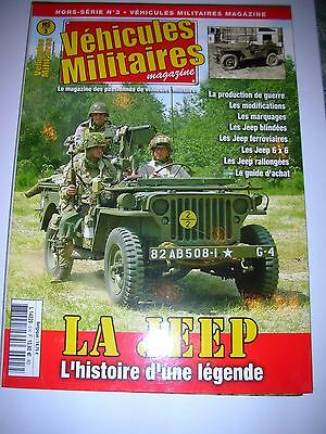 les véhicules JEEP  Hors serie N°1
