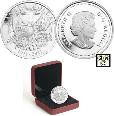 2011 Proof Silver $ '100th Anniversary of Parks Canada' (12771) (OOAK)