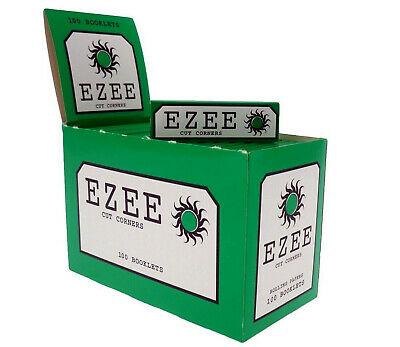 1000 Ezee Green Rolling Papers 20 Packs Of 50 Papers!!!