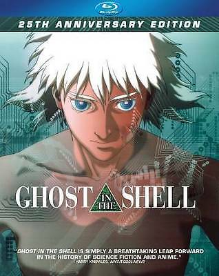 -NEW- Ghost In the Shell (Blu Ray, 1995) 25th Anniversary Edition