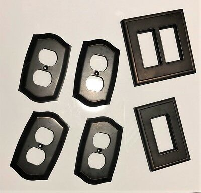 Decorative Brass Lighting Covers (For Six Fixtures)