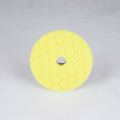 Chemical Guys Hex-Logic Quantum Heavy Cutting Pad - Yellow (6 Inch)