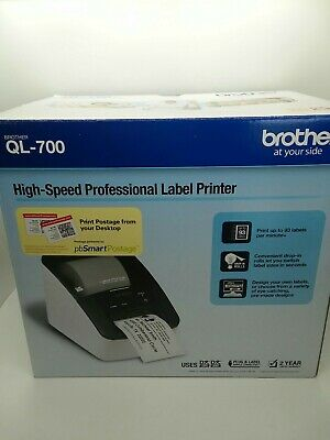 Brother QL-700 Direct Thermal Label Barcode Printer w Cutter