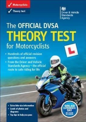 🌟The Official DVSA Theory Test Book for Motorcyclists: UNUSED FREE P&P🌟