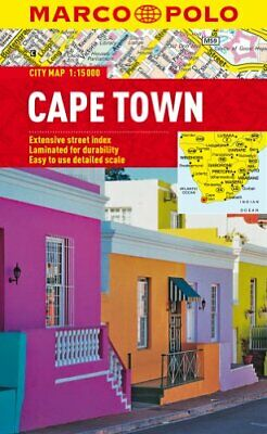 Cape Town Marco Polo City Map (Marco Polo City Maps) by Marco Polo Book The