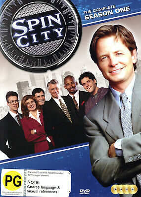 Spin City - Complete Season One [Non-Usa Format Ntsc Region 4] (4Dvd) Not Sealed