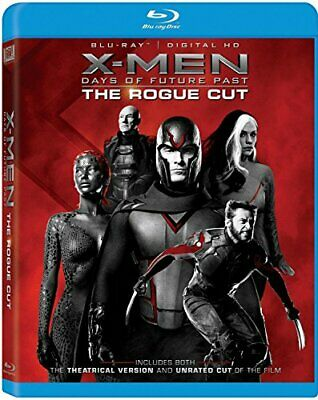 X-Men: Days Of Future Past - The Rogue Cut [Blu-ray] [2014] - DVD  4ELN The