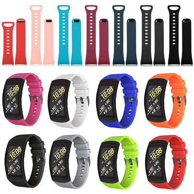 For Samsung Gear Fit 2 Pro SM-R360 R365 Silicone Replacement Wrist Band Strap US