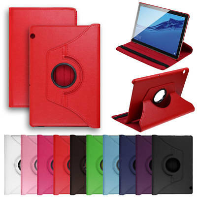 360° Rotating Case Leather Tablet Stand Case Cover For Huawei MediaPad T5 10.1''
