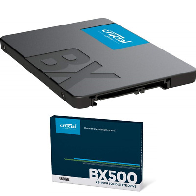 Hard Disk Hd Stato Solido Ssd Crucial Bx500 480Gb Ct480Bx500Ssd1 480 Gb