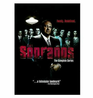 The Sopranos - The Complete Series (DVD, 2014, 30-Disc Set, Box) New free ship