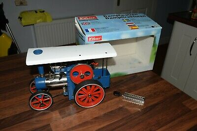 A Used Wilesco Steam Engine D405 d45 In Working Condition. boxed UNFIRED