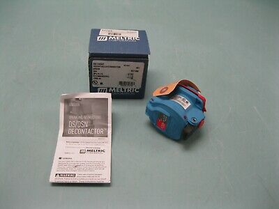 Meltric DSN20 Receptacle/Connector 63-14047 3-Pole 20A 277/480VAC NEW F17 (2503)