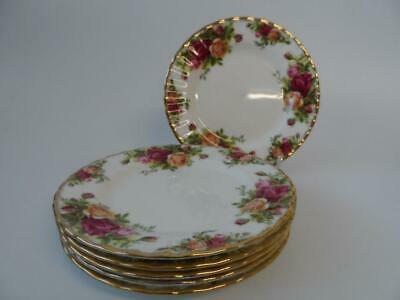 Royal Albert Old Country Roses 6 X Tea / Side Plates 1St 1962-73 Hardly Used