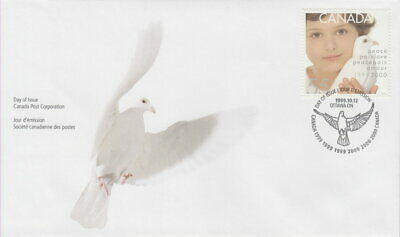 Canada #1813 55¢ Millennium Dove Of Peace And Child First Day Cover
