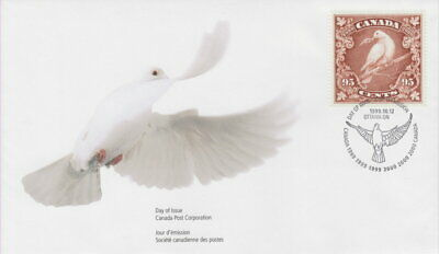 Canada #1814 95¢ Millennium Dove Of Peace First Day Cover