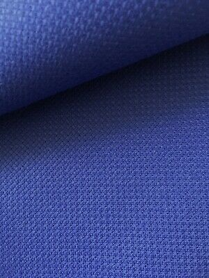 Royal Blue 14 Count Zweigart Aida cross stitch fabric - various size options