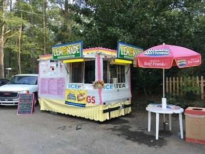 6' x 12' Turnkey Food Concession Trailer for Sale in Georgia!!!