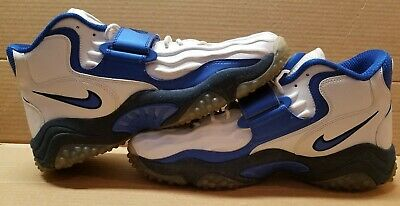 NIKE AIR ZOOM Turf Jet '97 White Obsidian Blue Stealth Size