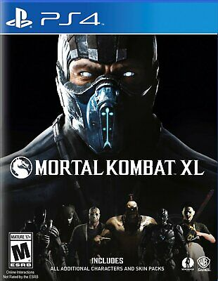 Videogioco PS4 Mortal Kombat XL Originale Italiano Nuovo per Sony PlayStation 4