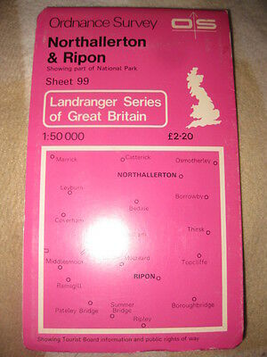 OS MAP of North Allerton & Ripon