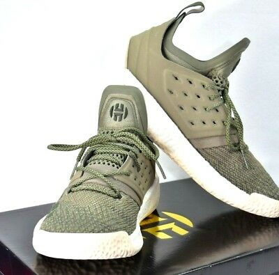 new style 557d9 ecbb8 ADIDAS Harden Vol. 2 JAMES HARDEN Cargo Men Basketball Sneakers AQ0027 Sz 10