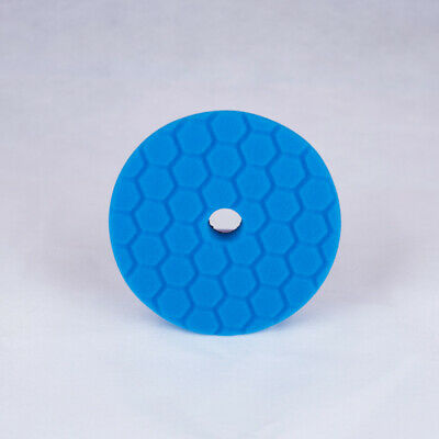 Chemical Guys Hex-Logic Quantum Finishing Pad - Blue (6 Inch)