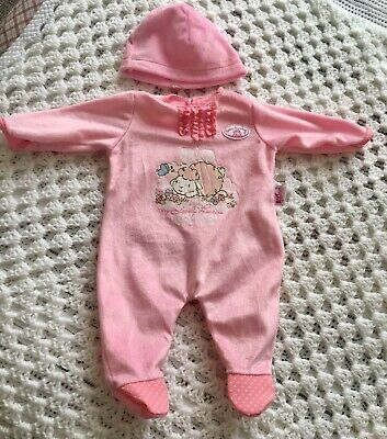 Baby Annabell 5 X Outfit ~ Nappies And Accessories