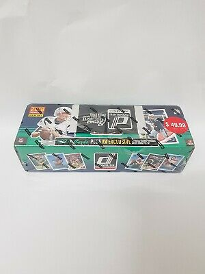 2018 Donruss Football sealed complete set 400 NFL cards & rookie threads green