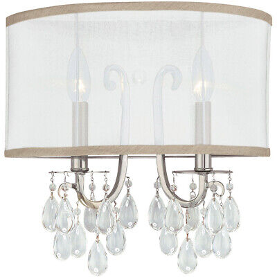 Crystorama 5622-CH Hampton Wall Sconce Polished Chrome