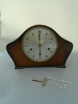 Vintage Smiths Mantle Clock Spares Repairs With Key