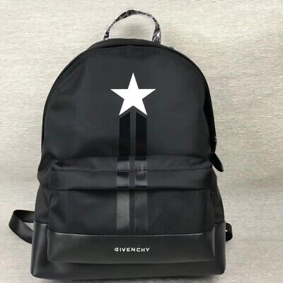 6f81a74fce ZAINO GIVENCHY STAR Stripes Black Nylon/Leather Backpack - EUR 249 ...