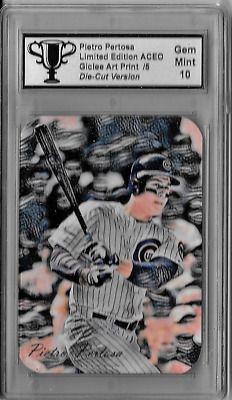 Anthony Rizzo Limited Edition Aceo Giclee Artist Signed Art Print Card 4 of 5