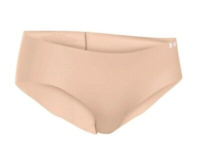 8307d7a5dd88 Under Armour 1275736 Women's Underwear UA Pure Stretch Hipster Nude - White  XS