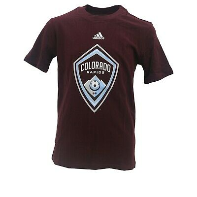 detailed look ae495 3b2ac Colorado Rapids Official MLS Adidas Apparel Kids Youth Size T-Shirt New Tags