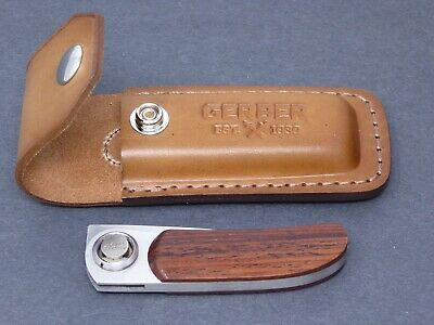 Gerber Leather Sheath Only-Perfect condition-Vintage Gerber New/Old Stock!