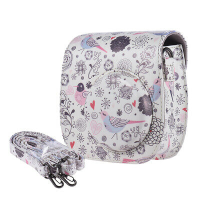 Andoer Compact Cute Lovely PU Leather Protective Camera Bag Carrying Case Z4E6