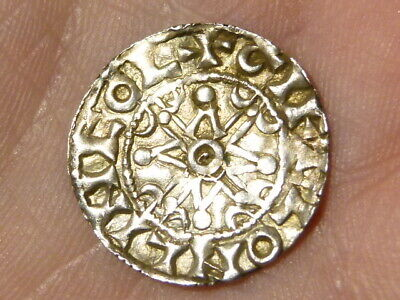 William I The Conqueror Penny GIFEL ON LINCOL Lincoln Hammered Silver #M1