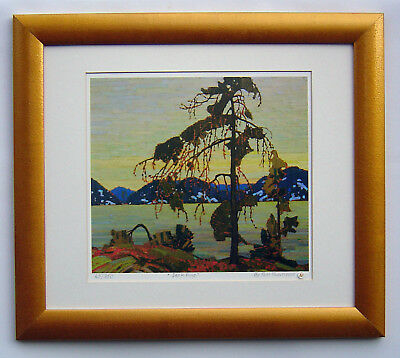 """Tom Thomson, Group of Seven """"Jack Pine"""" Limited Edition print w/frame"""