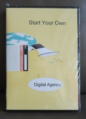 DVD How to Start your own Digital Agency and Make Big profits over 50 videos