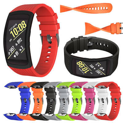 Silicone Replacement Wrist Band Strap For Samsung Gear Fit 2 / Fit2 Pro AU POST