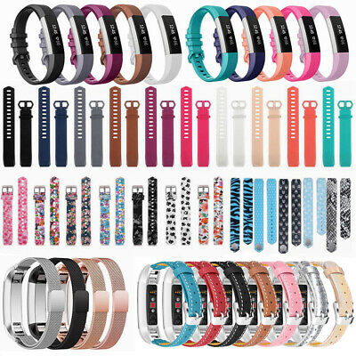 Silicone Leather Replacement Wrist Bands Straps For Fitbit Alta & Alta HR AUPOST