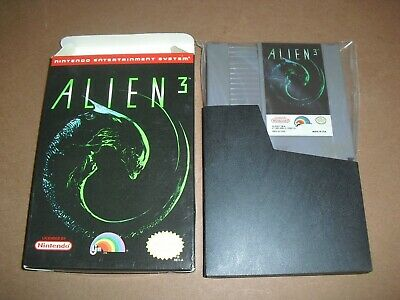 Alien 3 III Game & Box ONLY in GREAT COND for NES Nintendo! Authentic