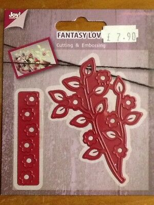 JOY CRAFTS CUTTING /& EMBOSSING EDGE HEART 6002//0078 *