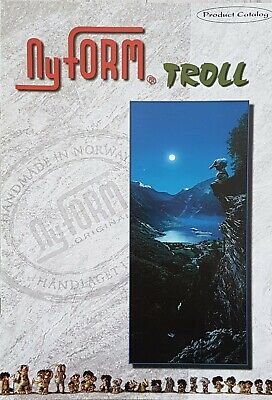 Original 'NyFORM TROLL' 1999 Norway PRODUCT CATALOGUE Colour BROCHURE