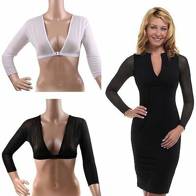Amazing Arms Slimming Wrap Concealing Light Weight Women Shaperwear Long Sleeves