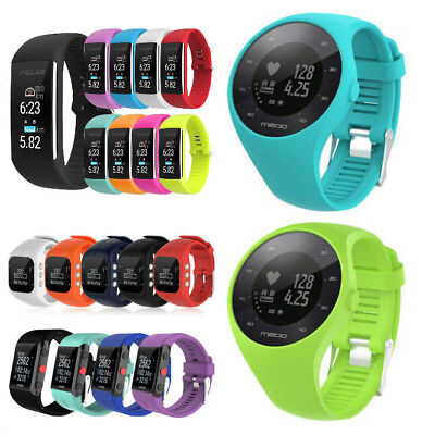 Replacement Silicone Wrist Straps Watch Band for Polar V800 A300 A360 M200 Watch